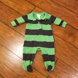 Ralph Lauren footies one piece